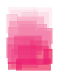 Pink Ombre Poster by Ashlee Rae