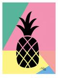 Geometric Pineapple Prints by Ashlee Rae