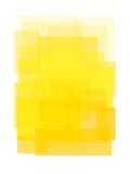 Yellow Ombre Kunst von Ashlee Rae
