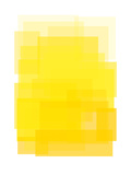 Yellow Ombre Láminas por Ashlee Rae