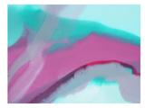 Up Close & Pink Posters by Deb McNaughton