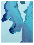 Stained Blue Prints by Deb McNaughton