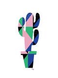 Geometric Cactus Prints by Ashlee Rae