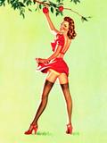Good Pickin's Pin-Up c1940s Julisteet tekijänä Art Frahm