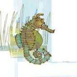 Marsh Seahorse Grass Kunstdrucke von Robbin Rawlings