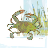Marsh Crab Art by Robbin Rawlings