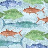 Swimming Fish Affiches par Bee Sturgis