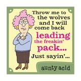 Leading the Pack Láminas por  Aunty Acid