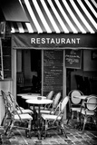 Paris Focus - French Restaurant Photographic Print by Philippe Hugonnard