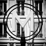 Paris Focus - Paris Métro Fotografie-Druck von Philippe Hugonnard