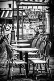Paris Focus - Brasserie Montmartre Fotografie-Druck von Philippe Hugonnard