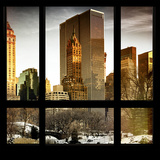 View from the Window - Central Park in Winter Impressão fotográfica por Philippe Hugonnard