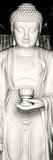 China 10MKm2 Collection - White Buddha Photographic Print by Philippe Hugonnard