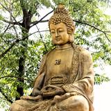 China 10MKm2 Collection - Buddha Fotografie-Druck von Philippe Hugonnard