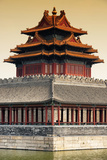 China 10MKm2 Collection - Chinese Architecture at Sunset - Forbidden City - Beijing Metal Print by Philippe Hugonnard