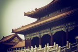 China 10MKm2 Collection - Forbidden City Architecture Metal Print by Philippe Hugonnard