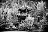 China 10MKm2 Collection - Chinese Pavilion in Garden Metal Print by Philippe Hugonnard