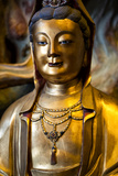 China 10MKm2 Collection - Golden Buddha Metal Print by Philippe Hugonnard