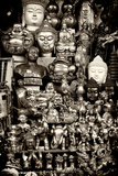 China 10MKm2 Collection - Market Buddhas Metal Print by Philippe Hugonnard