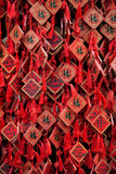 China 10MKm2 Collection - Prayer offering at a Temple Metal Print by Philippe Hugonnard