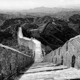 China 10MKm2 Collection - Great Wall of China Fotografie-Druck von Philippe Hugonnard