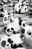 China 10MKm2 Collection - Psychedelic Pandas Metal Print by Philippe Hugonnard