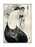 The Peacock Girl, 1893 Reproduction procédé giclée par Aubrey Beardsley