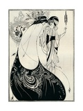 The Peacock Girl, 1893 Lámina giclée por Aubrey Beardsley