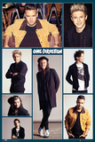 One Direction- Group Grid Affiche