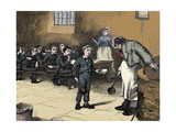 Scene from Oliver Twist by Charles Dickens, 1836 Giclee Print by James Mahoney