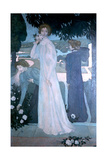 Portrait of Yvonne Lerolle, 1897 Giclee Print by Maurice Denis