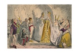 Marriage of Henry the Sixth and Margaret of Anjou, 1850 Giclee Print by John Leech