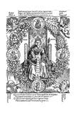 Philosophia, 1502 Giclée-Druck von Albrecht Dürer