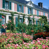 Claude Monets House, Giverny, Normandy, France Photographic Print by Peter Thompson