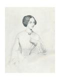 Johanna Wagner, 1852 Impressão giclée por Richard James Lane