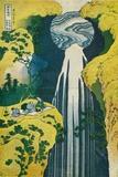 The Waterfall of Amida Behind the Kiso Road, C1832. (1925) Reproduction procédé giclée par Katsushika Hokusai