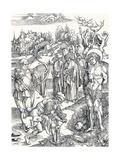 The Martyrdom of St Sebastian, C1495 Giclée-vedos tekijänä Albrecht Dürer