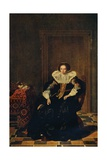 Portrait of a Lady, 1632 Artist: Thomas De Keyser Giclee Print by Thomas de Keyser