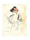 From a Sketch in Lead Pencil and Water-Colour, 1901 Giclee Print by Jean Francois Raffaelli