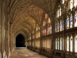 Cloisters of Gloucester Cathedral, Late 14th Century Photographic Print by Peter Thompson
