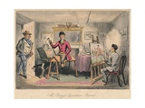 Mr. Braggs Equestrian Portrait, 1865 Giclée-tryk af John Leech