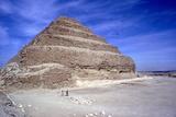 Step Pyramid of King Djoser (Zozer), Saqqara, Egypt, 3rd Dynasty, C2600 Bc Reproduction photographique par  Imhotep