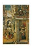 The Annunciation, with Saint Emidius, 1486, (1911) Giclée-vedos tekijänä Carlo Crivelli