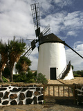 Windmill, Antigua, Fuerteventura, Canary Islands Photographic Print by Peter Thompson