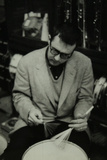Joe Morello, Drummer with the Dave Brubeck Quartet, 1950S Reproduction photographique Premium par Denis Williams