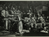 The Count Basie Orchestra in Concert, C1950S Fotoprint van Denis Williams