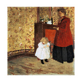 Mother and Child, 1900 Giclée-Druck von Edouard Vuillard