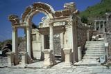 Temple of Hadrian in Ephesus, 2nd Century Reproduction photographique par CM Dixon