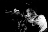 Hugh Masekela, Ronnie Scotts, London, 1994 Fotografisk tryk af Brian O'Connor