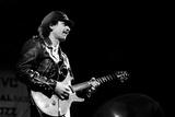 Carlos Santana, Rfh London, 1988 Fotografisk tryk af Brian O'Connor